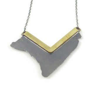 Seth Papac - Torn V Pendant Grey
