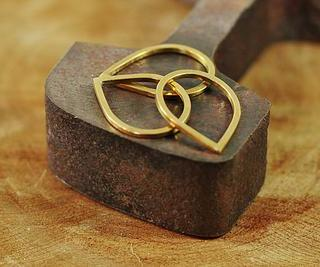 LOA Designs - Brass Stacking Rings set of 3