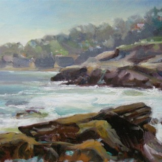 La Jolla Cove en Plein air