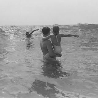 Four Figures in Surf, La Jolla