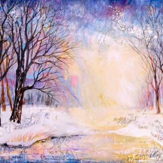 Sherry Krulle Beaton - Early April Snow