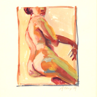 Nude with Backside