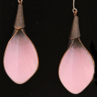 Pink Calla Lily Earrings