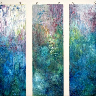 Stefanie Bales - After the Rain-triptych