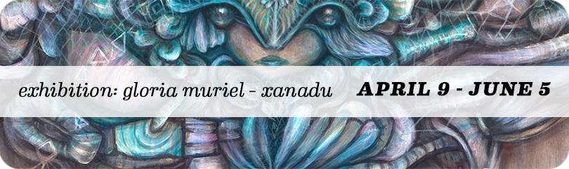 San Diego Artist Gloria Muriel Solo Show Xanadu