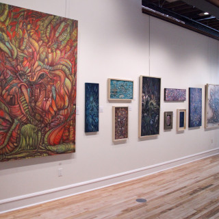 Exhibit wall pano