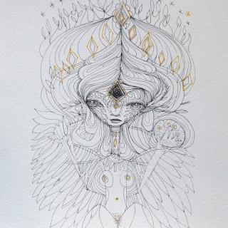 Lilith Print