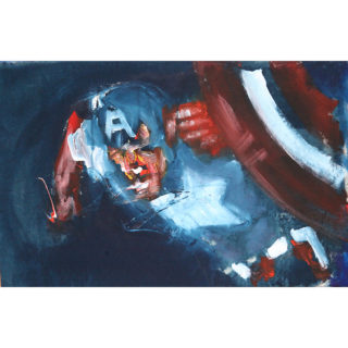 Larry Caveney - Captain America