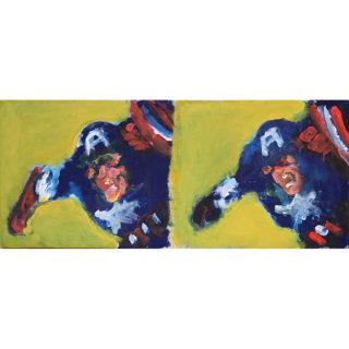 Larry Caveney - Double Captain America