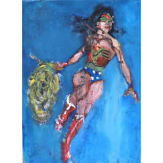 Larry Caveney - Large WonderWoman