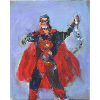 Larry Caveney - Superman Breaking Chains