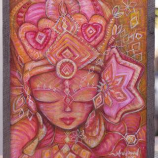 Red Tara Goddess