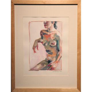 Anna Stump - Languid Nude