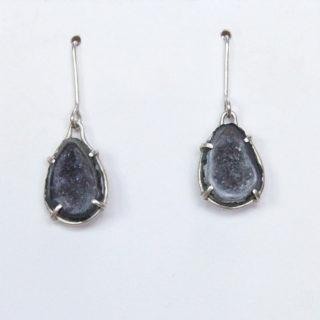 Eva Zuzu - Geo Druzy earrings copy