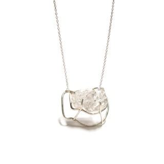 Herkimer pendant necklace