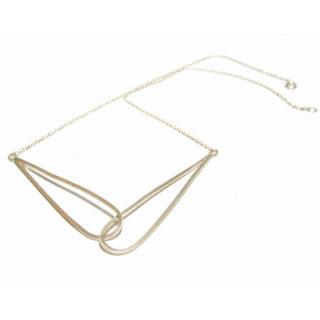 Interlocking drop necklace