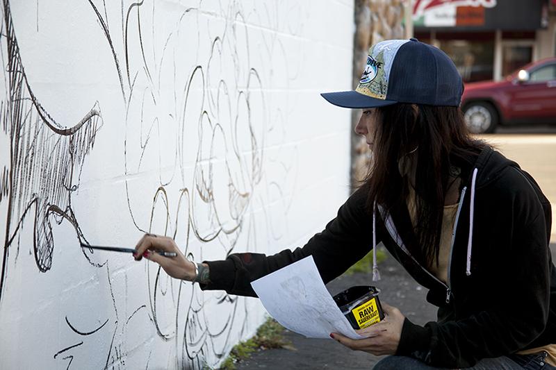 AmandaLynn at work
