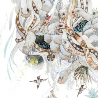 Pegasus Mandala Detail