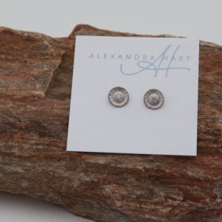 Australian Silvermist diamond earrings