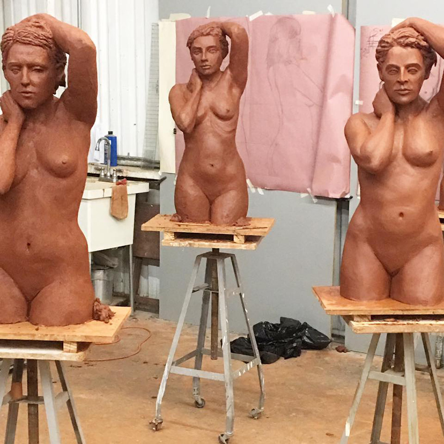 California Sculpture Academy Finished Works