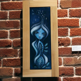 Gloria Muriel Aqua Lazuli Hanging