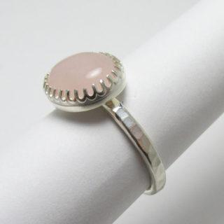 Rose Quartz Ring Briar and the Rose 1