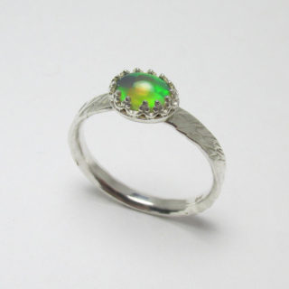 Ethiopian Opal Ring Briar and the Rose 1