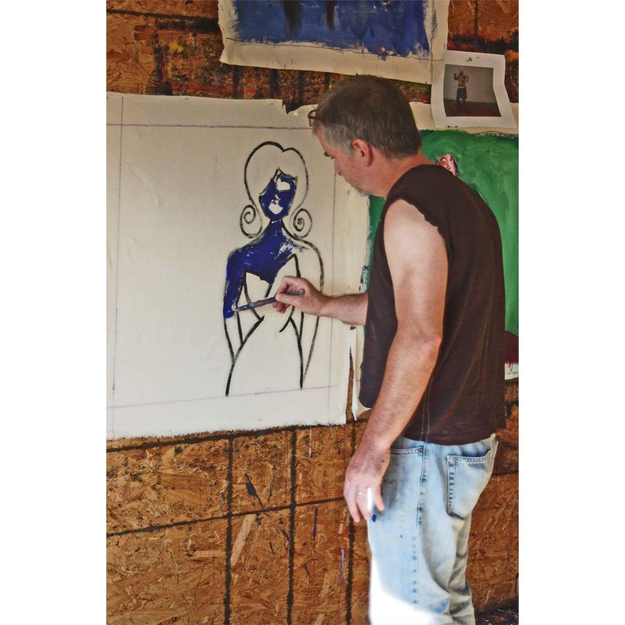 Larry Caveney Painting