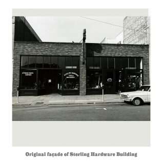 Original Facade: Sterling Hardware
