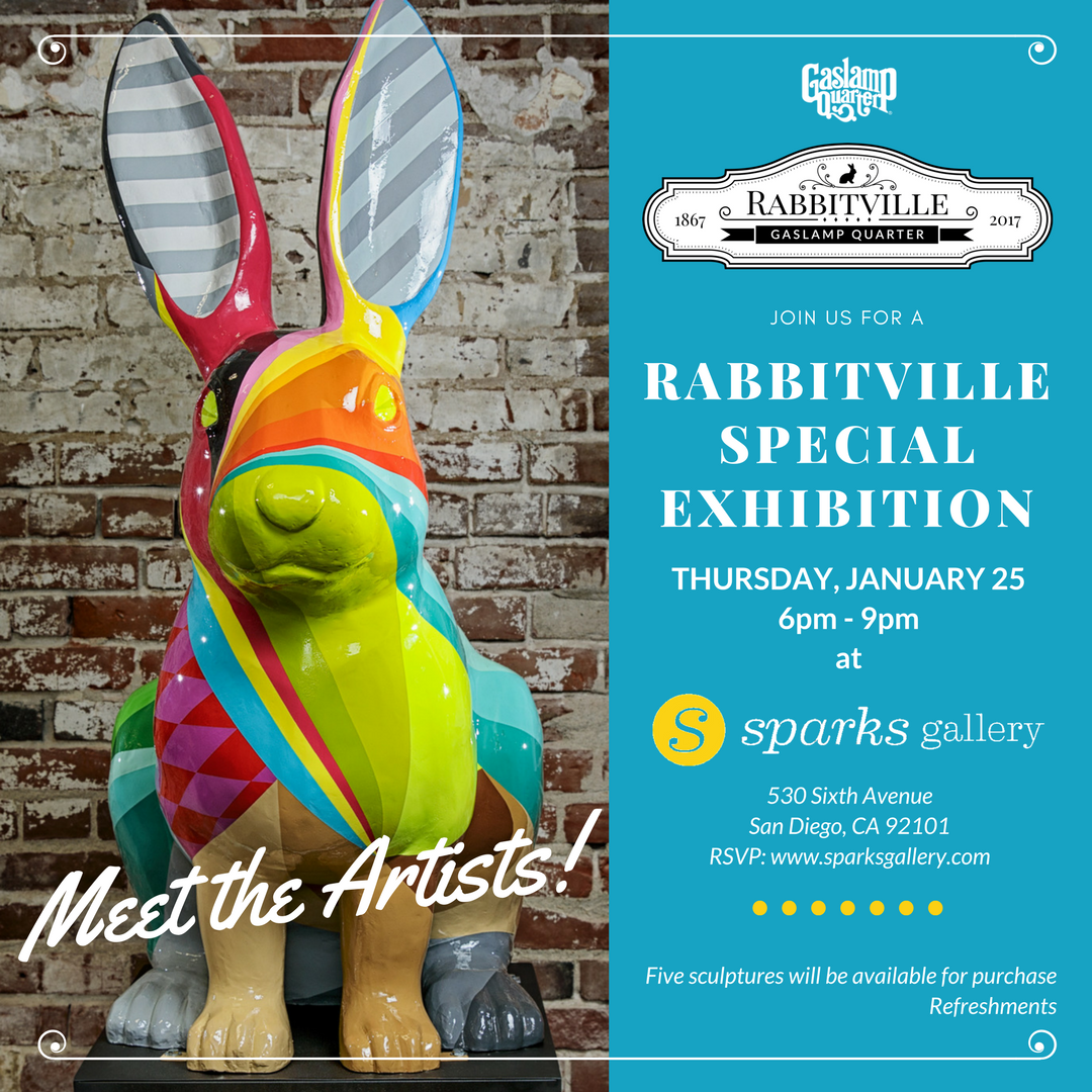 Rabbitville Pop-up Exhibition and Artists' Reception