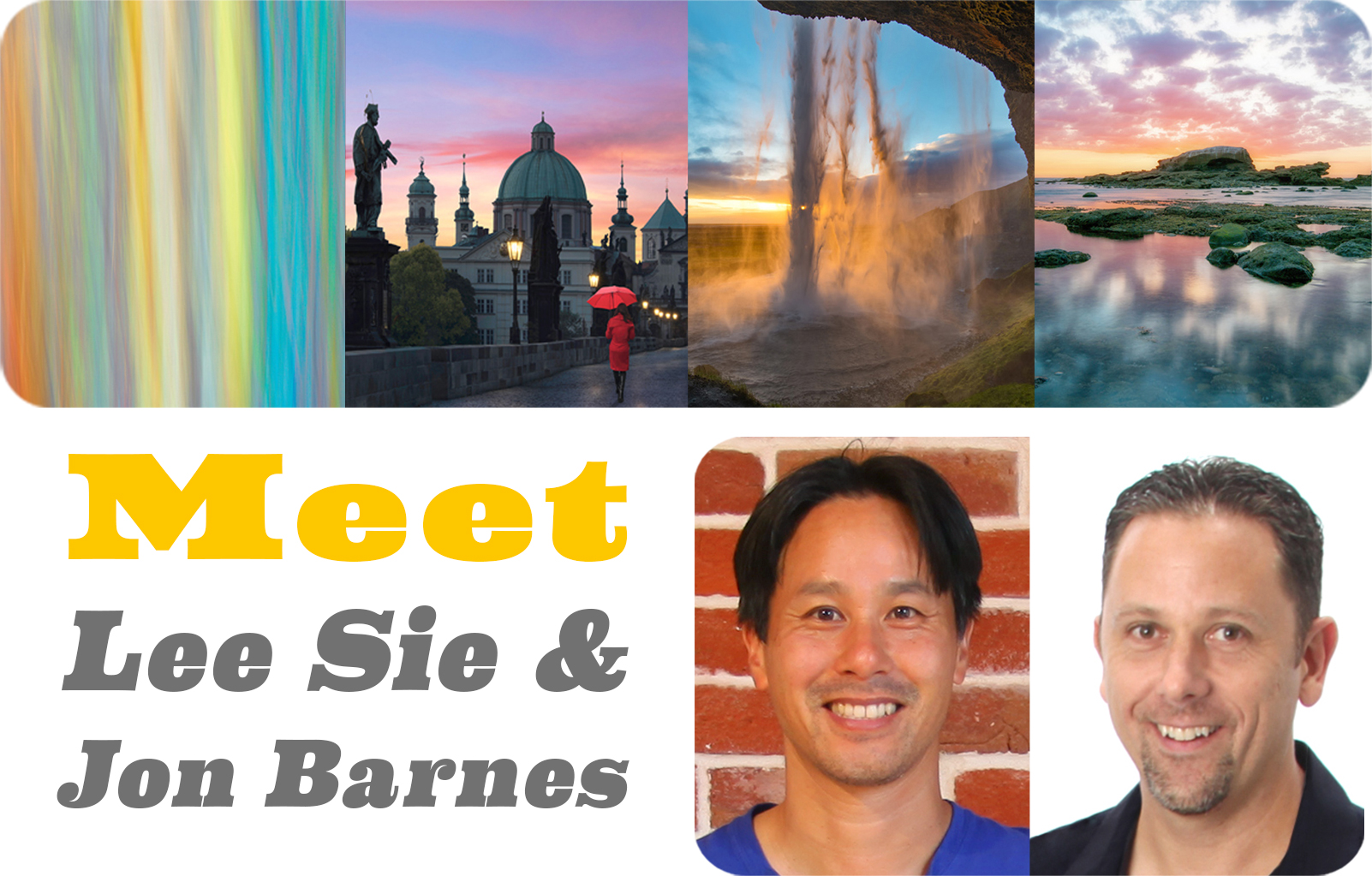 "Lee Sie & Jon Barnes – Here & There ""California Works"" Artist Talk and Reception"